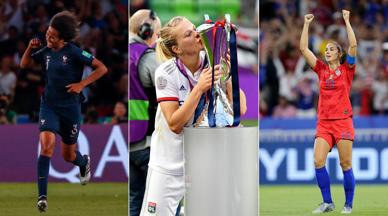Wendie Renard, Ada Hegerberg and Alex Morgan are among the best women's players in the world