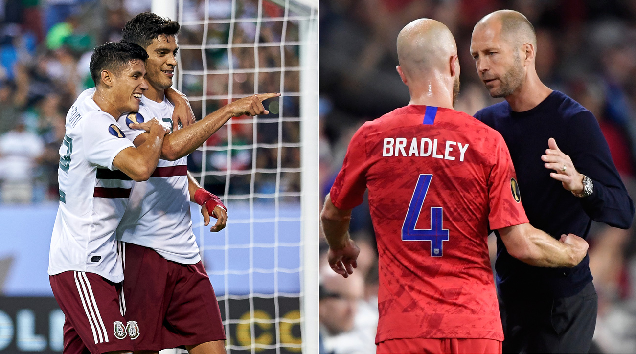 Rivals USA and Mexico meet in the 2019 Concacaf Gold Cup final