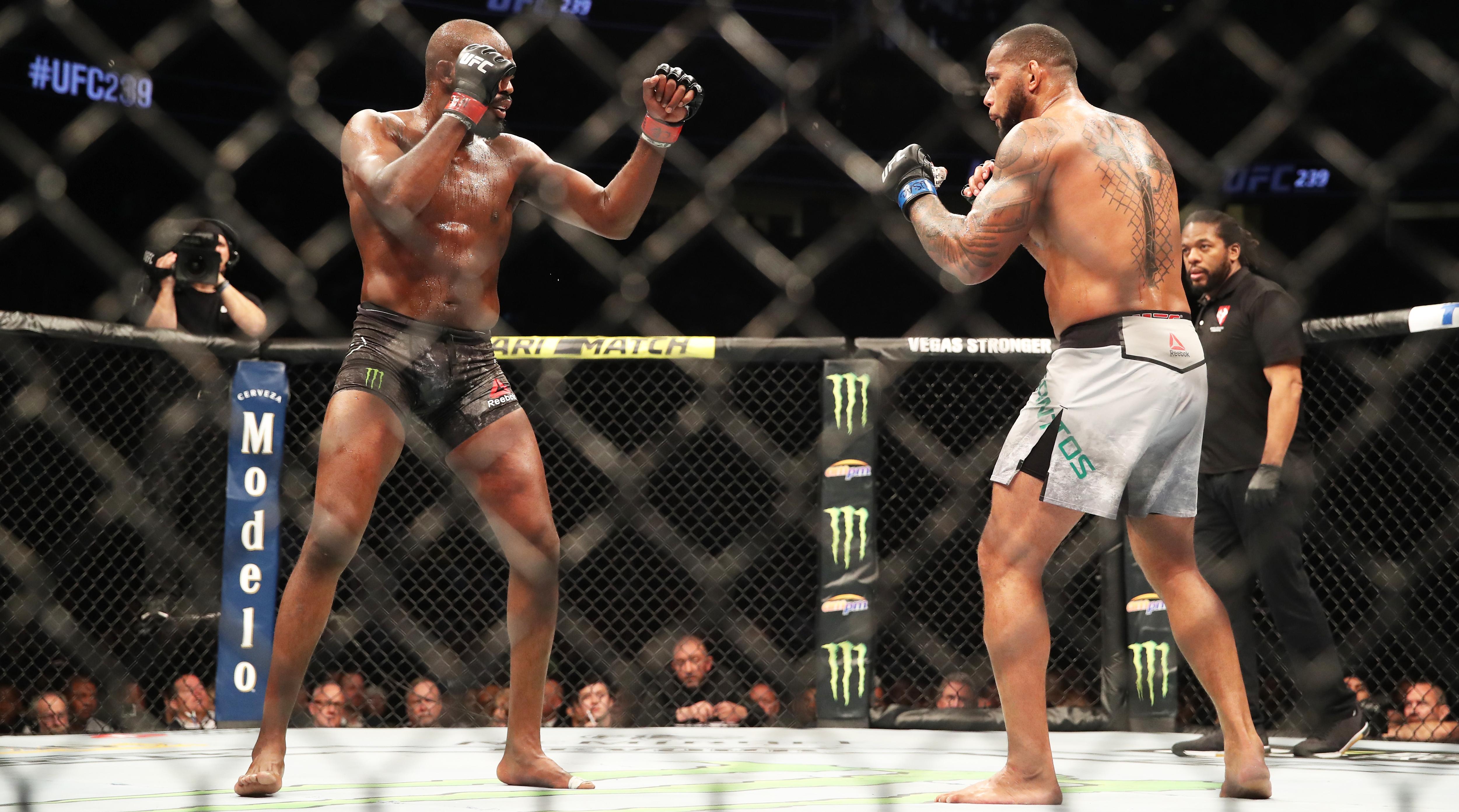 UFC 239: Weigh-ins