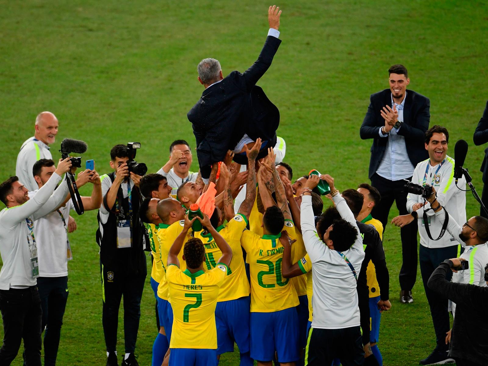 Tite guides Brazil to the Copa America title