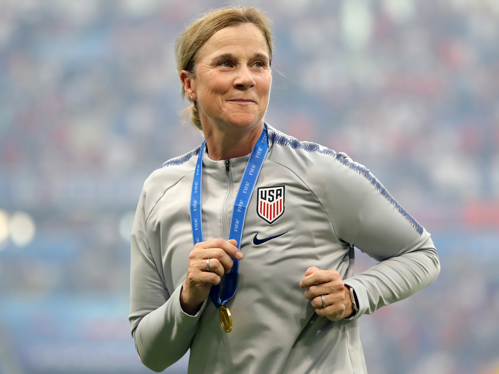 Jill Ellis has guided the U.S. women's national team to consecutive Women's World Cup titles