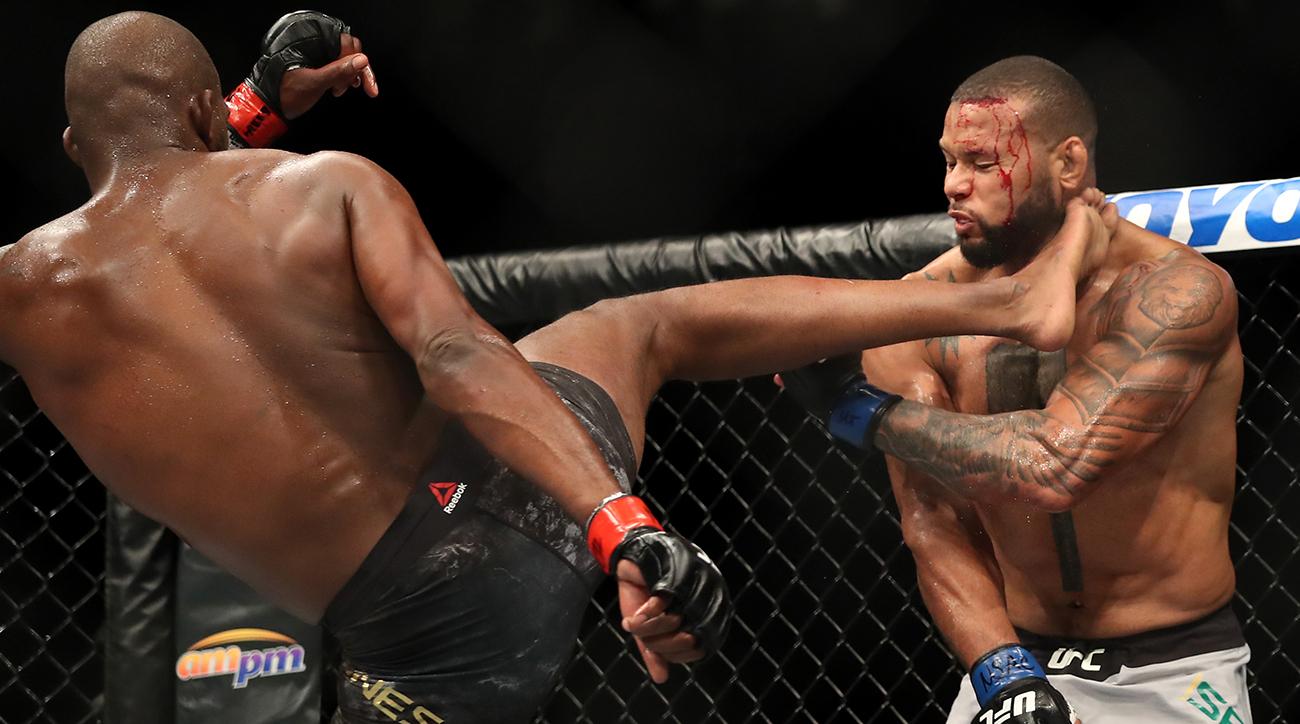 MMA, Thiago Santos, ufc 239, light heavyweight title, jon jones, wire