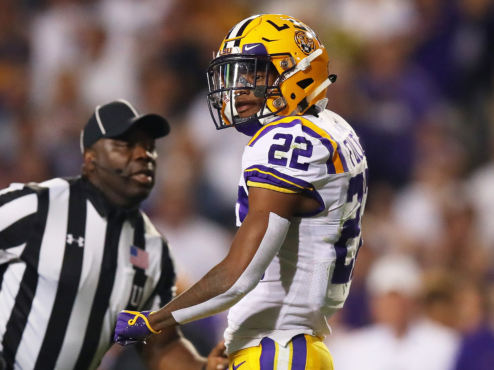 College football best players top 100 LSU Kristian Fulton