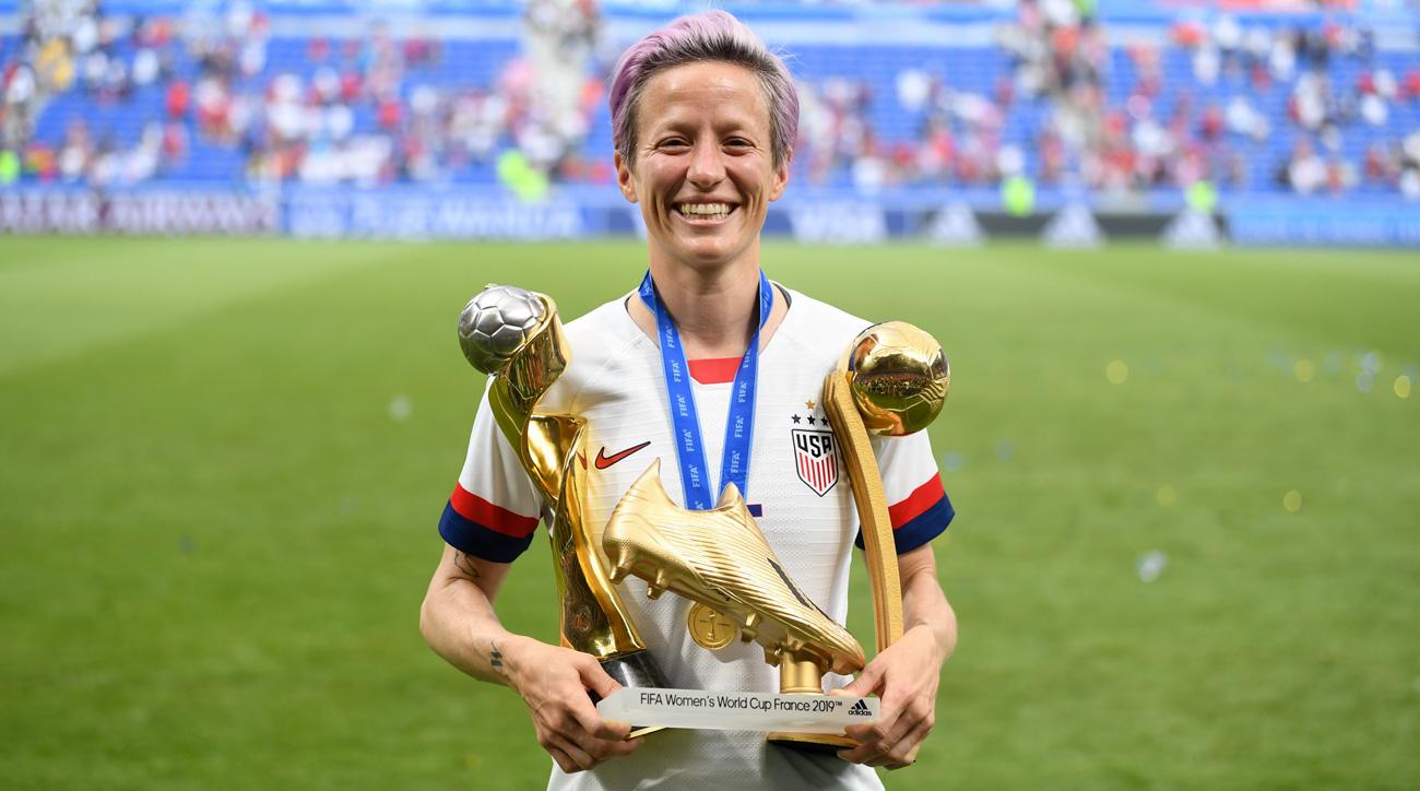 Megan Rapinoe won it all at the Women's World Cup