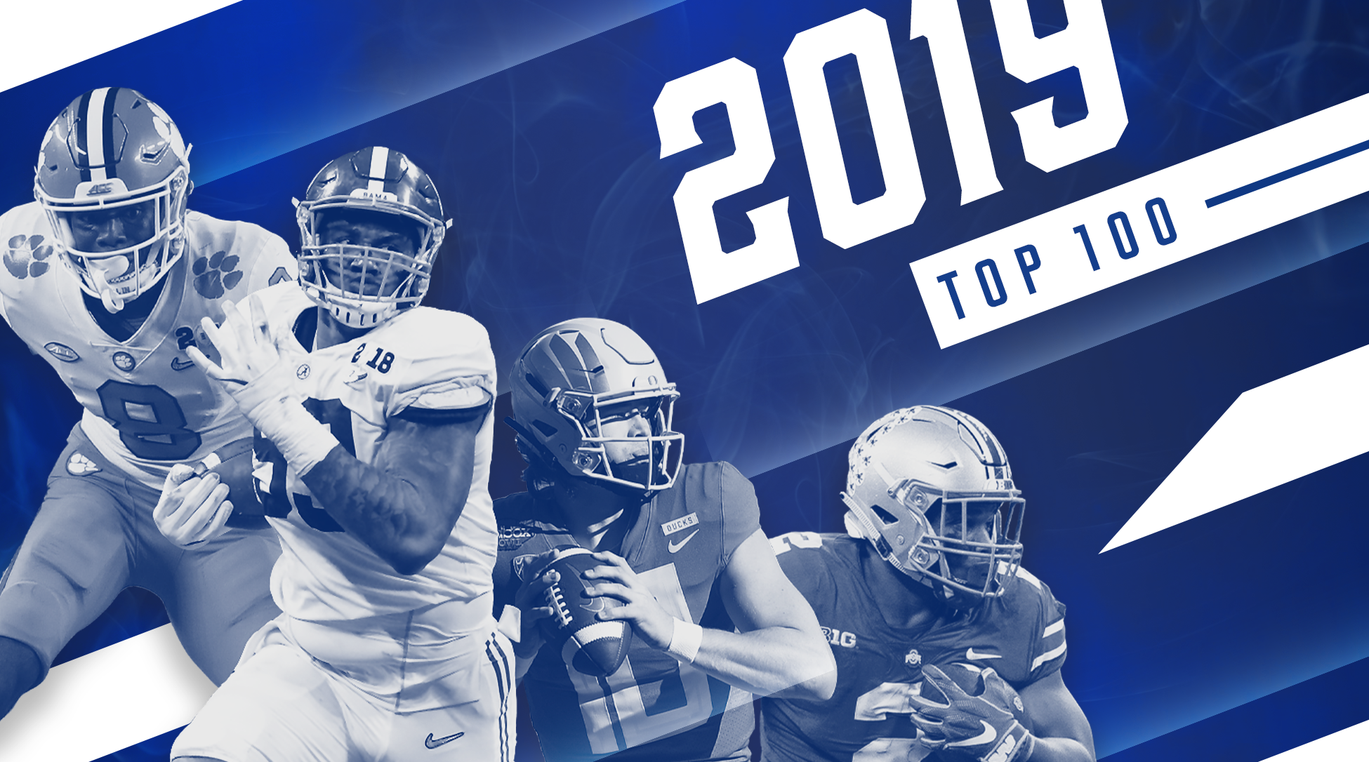 College football: Top 100 player rankings for 2019 season