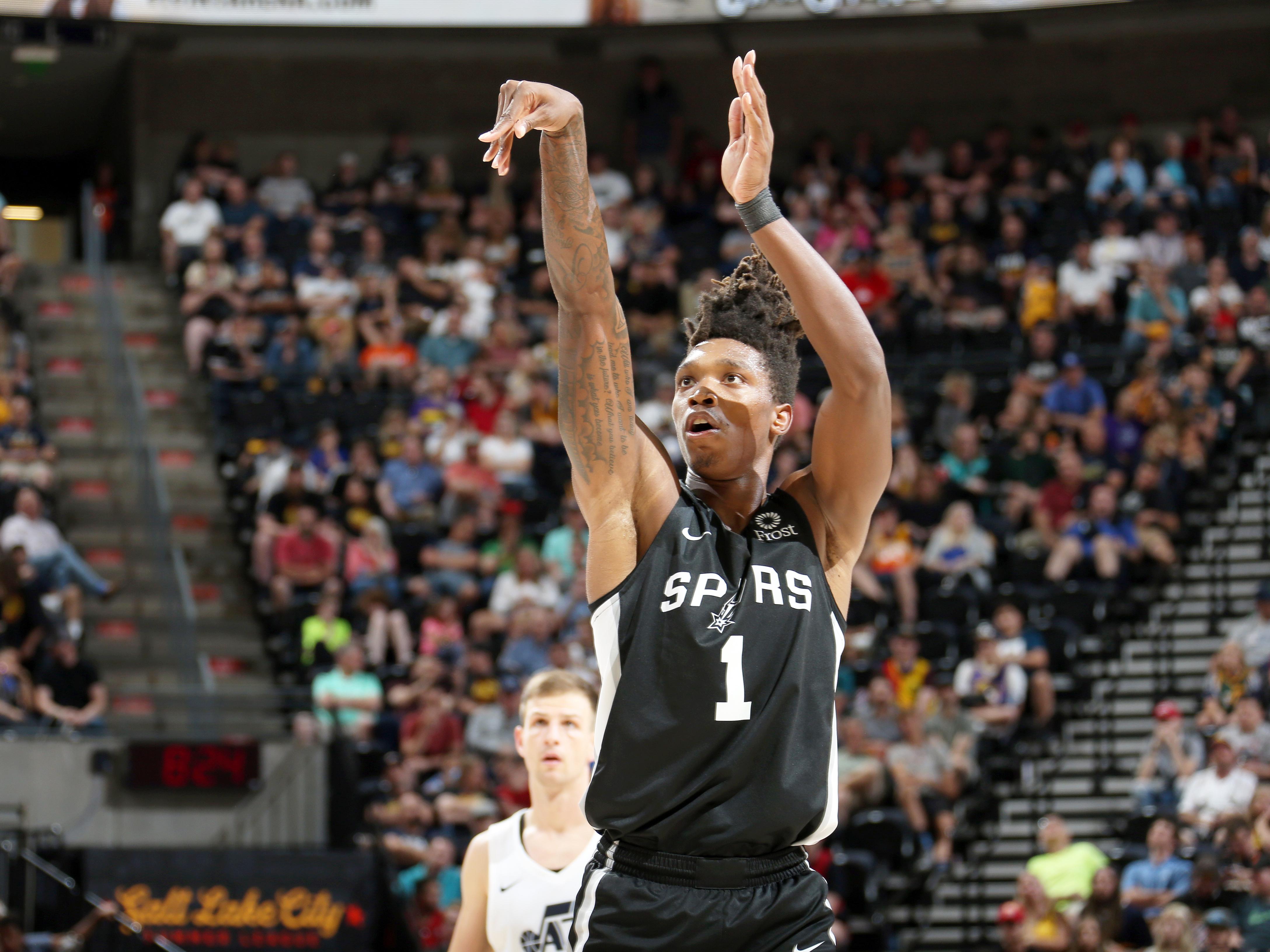 2019 Salt Lake City Summer League - San Antonio Spurs v Utah Jazz