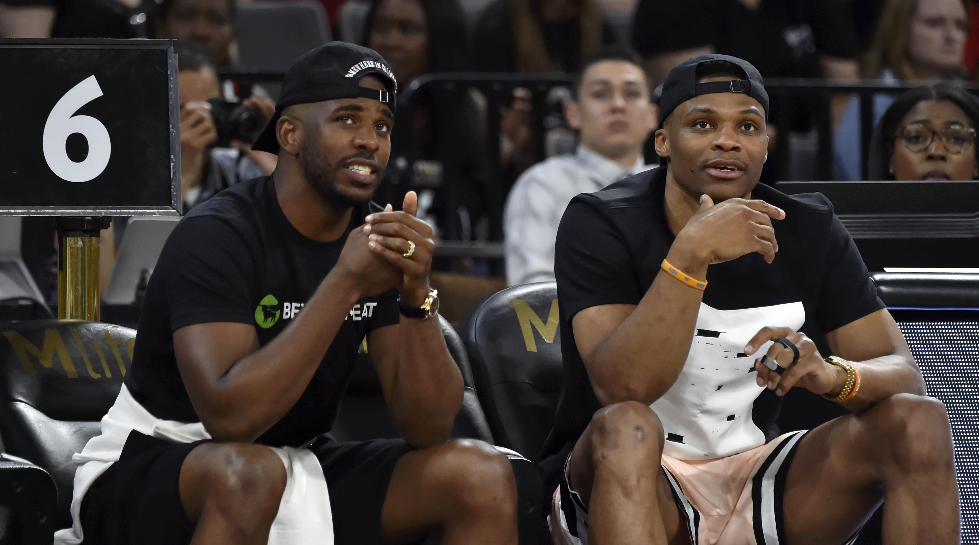 Russell Westbrook Chris Paul trade reactions