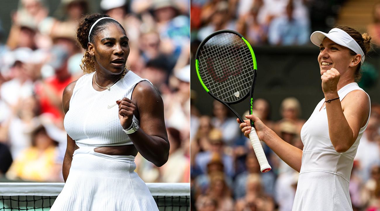 Serena Williams Simona Halep