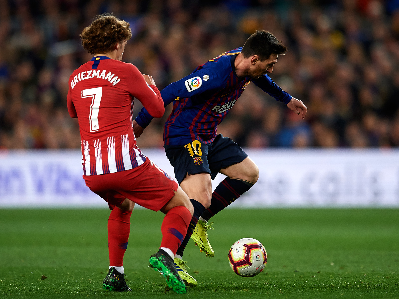 Antoine Griezmann is now teammates with Lionel Messi at Barcelona