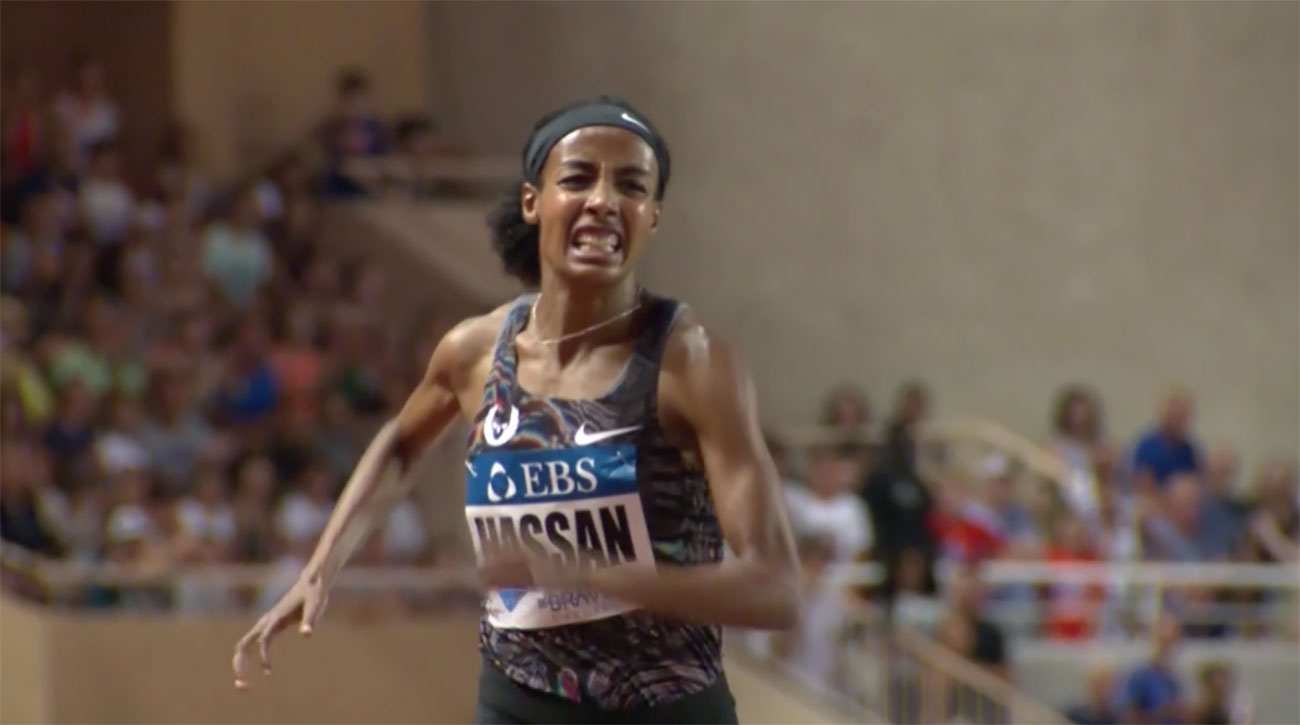 sifan hassan world record womens mile