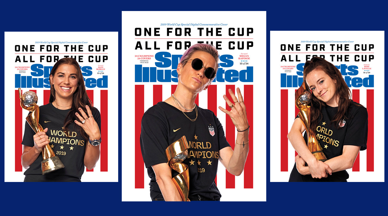 SI commemorates the USWNT's Women's World Cup title with special digital commemorative covers