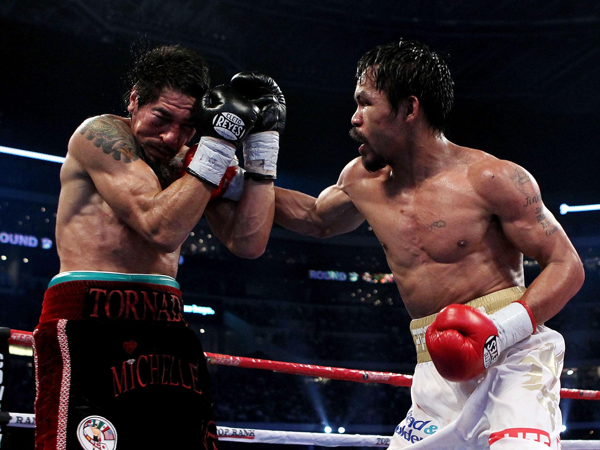 Antonio Margarito vs. Manny Pacquiao