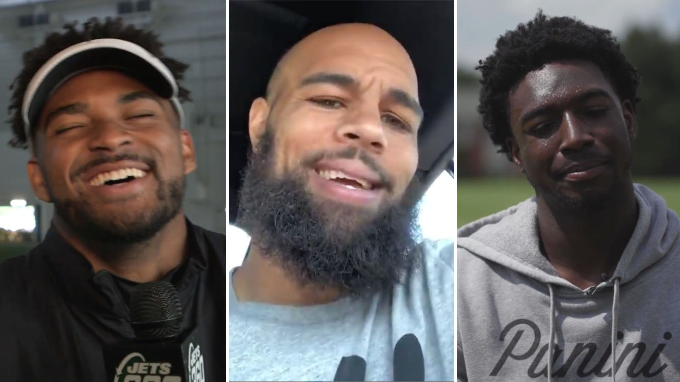 NFL players react to Madden 20 ratings (video)