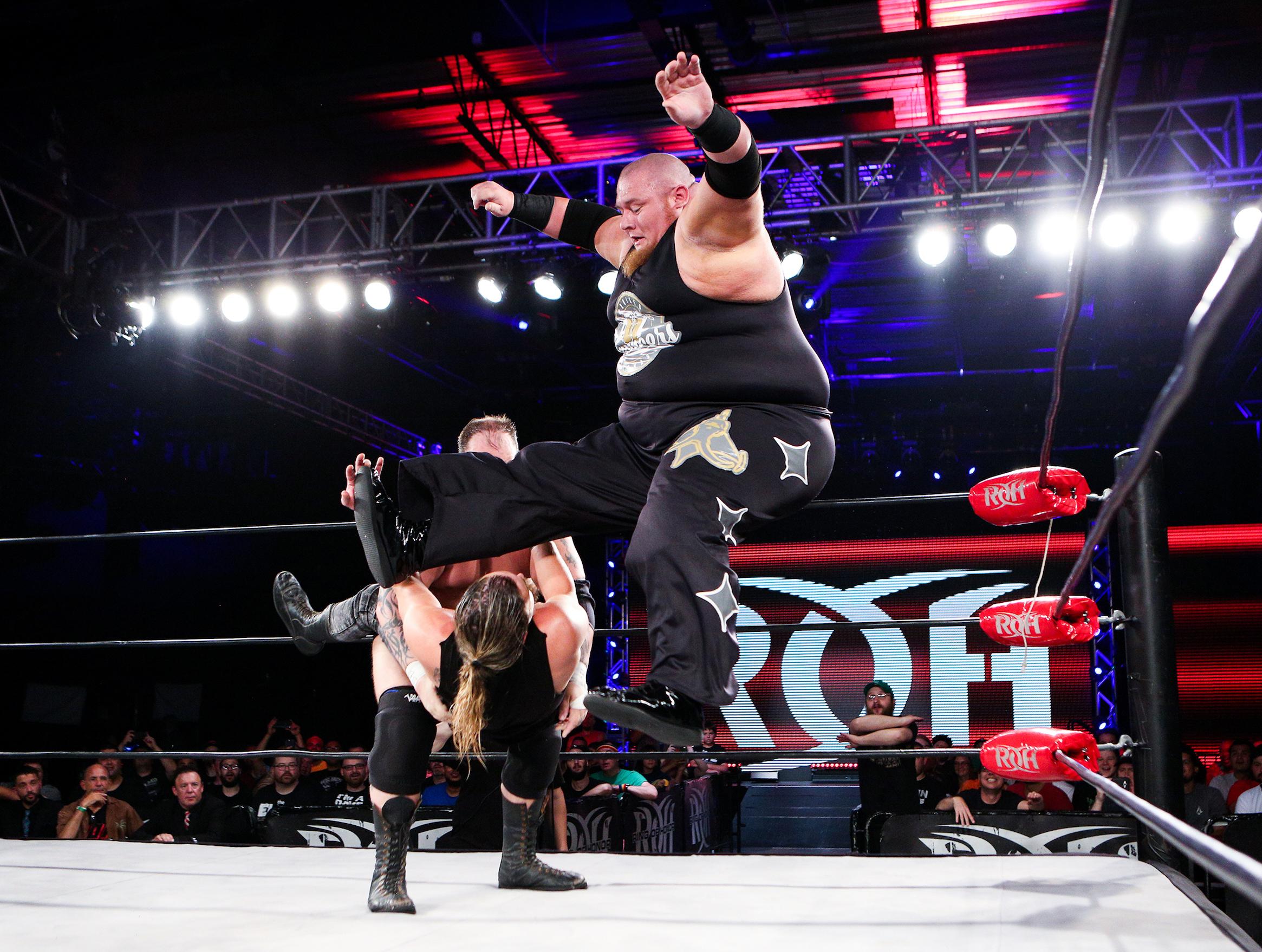 Ring of Honor Wrestler Brian Milonas