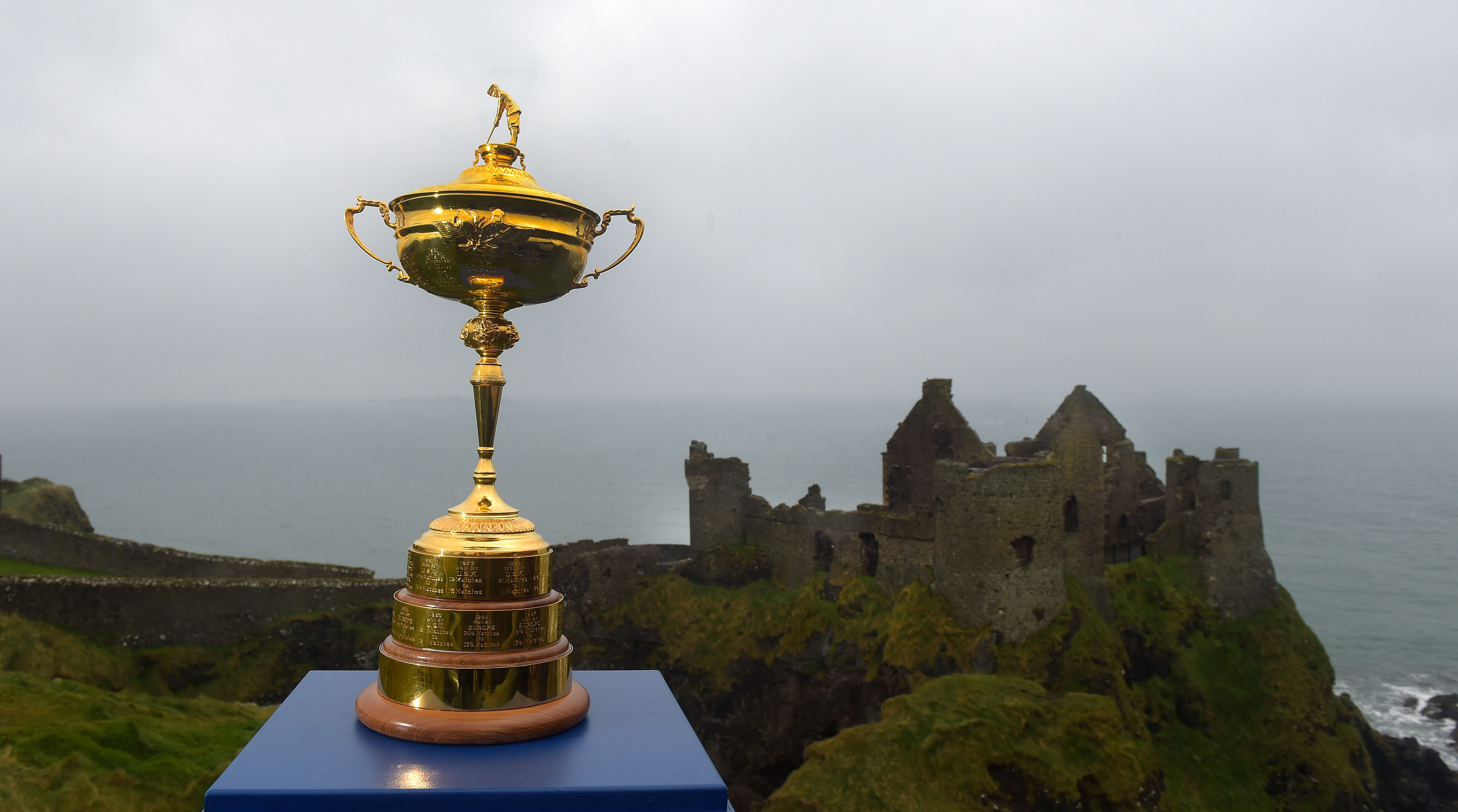 British Open near castle used for Game of Thrones