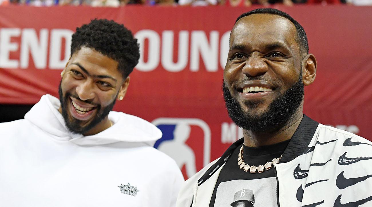 LeBron James invites Anthony Davis to Taco Tuesday
