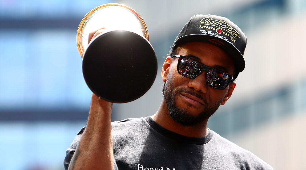 Kawhi Leonard countersued by Nike over Klaw logo