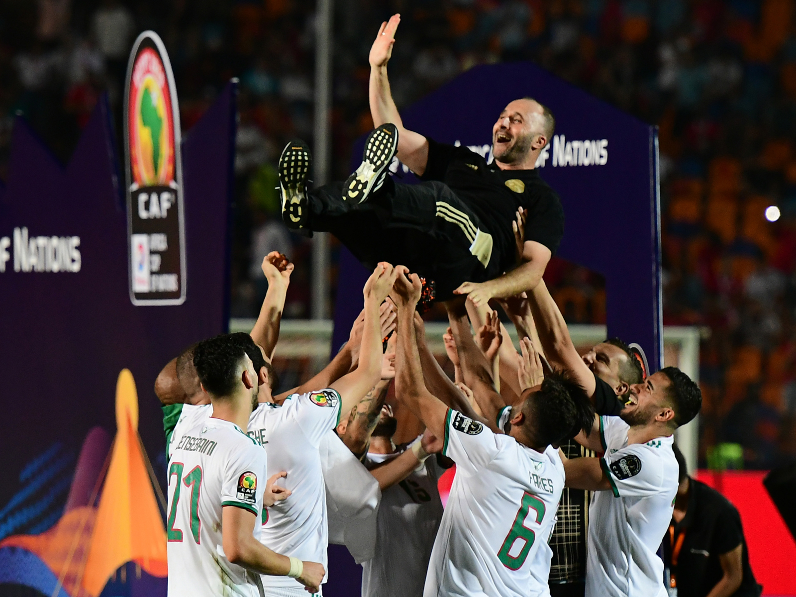 Algeria wins the 2019 Africa Cup of Nations