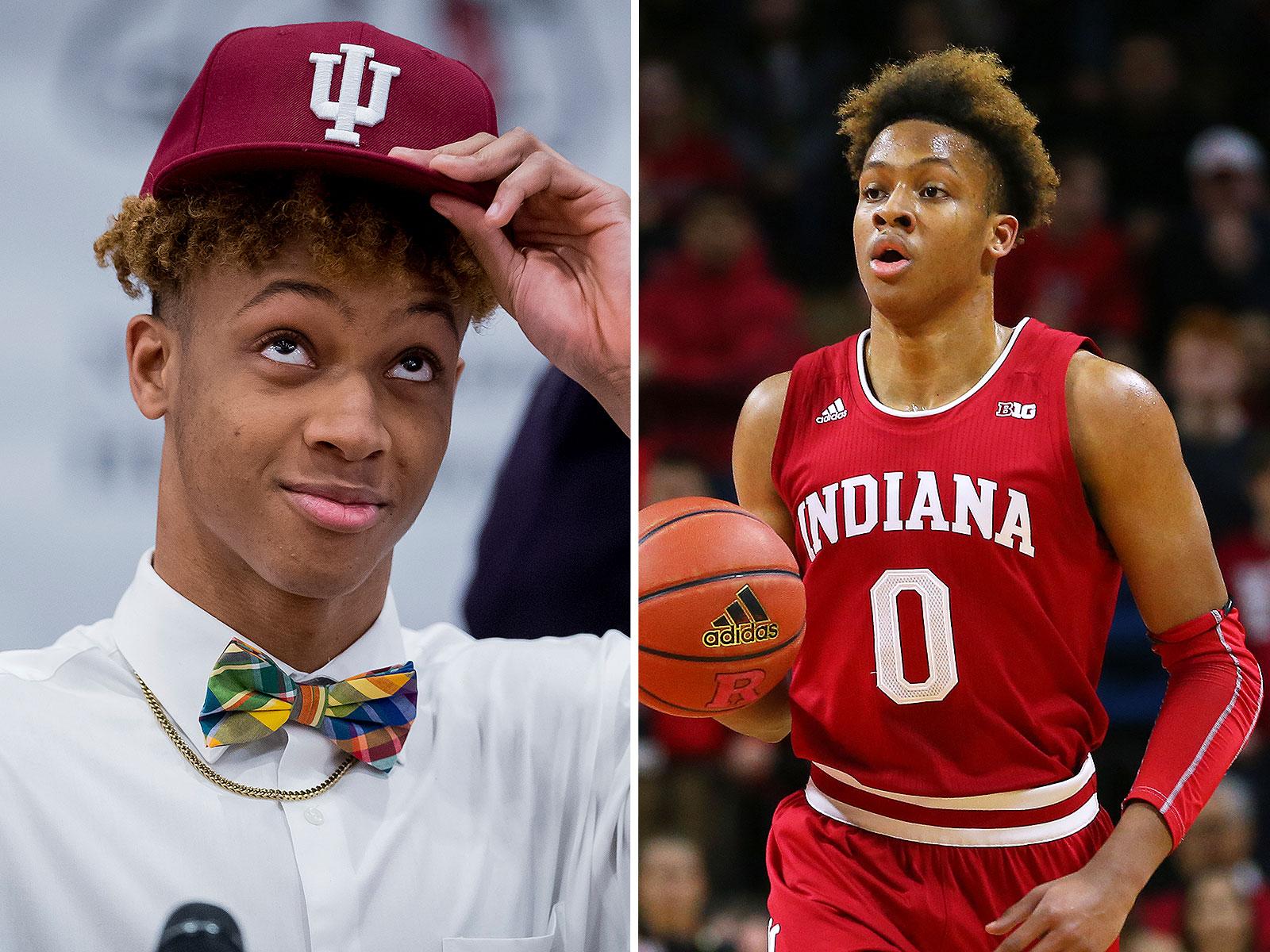 Indiana basketball recruiting Romeo Langford commits