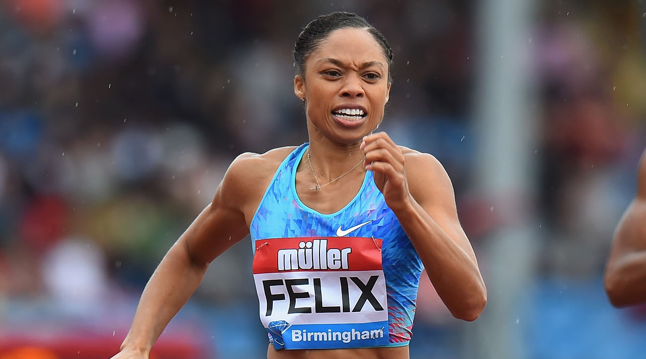 Allyson Felix to return to the track for first time since giving birth