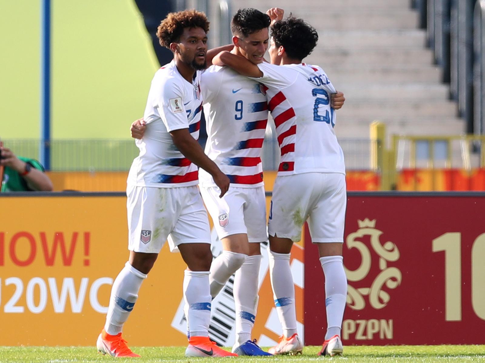Konrad de la Fuente, Sebastian Soto and Richie Ledezma are the USA's stars on the rise