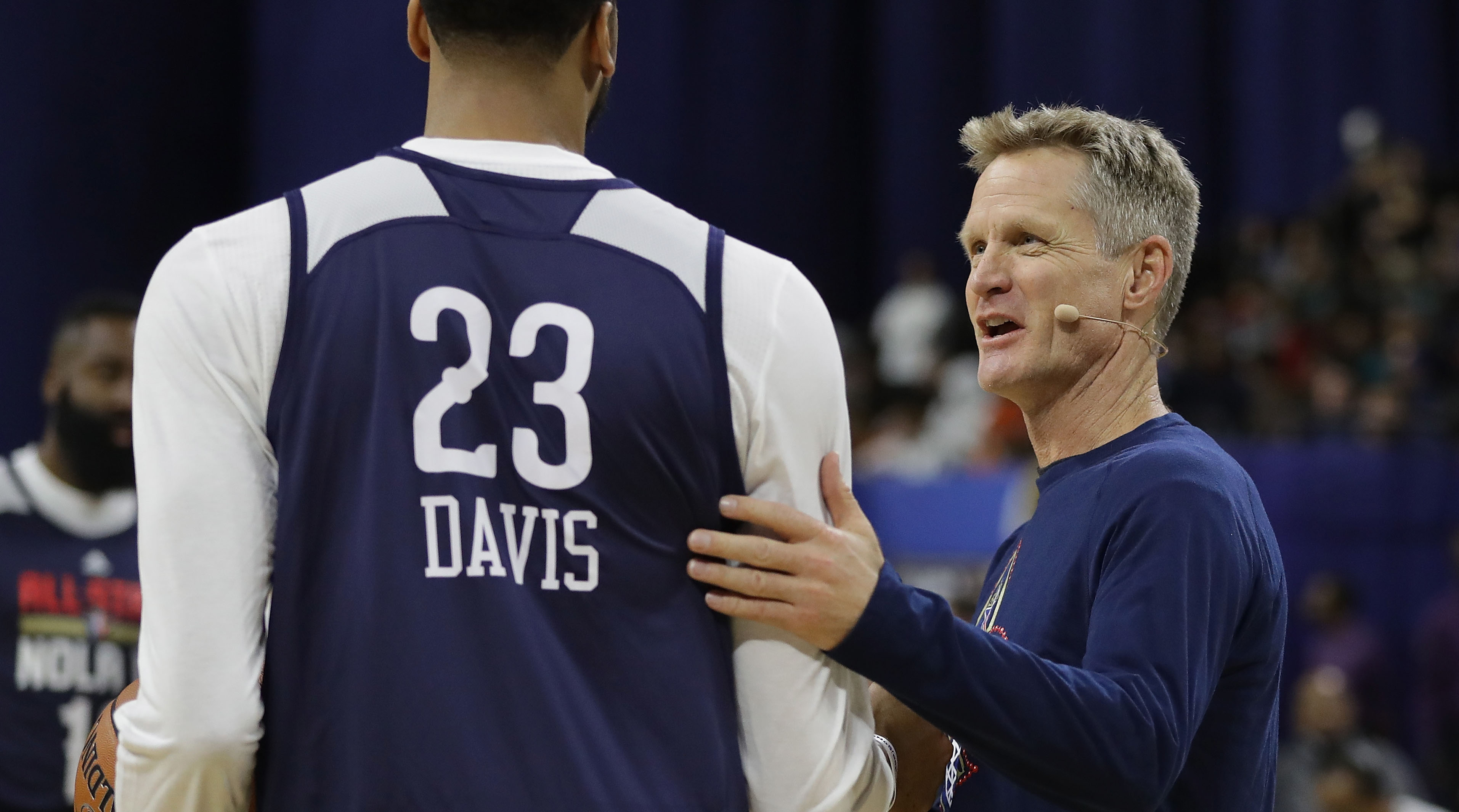 Kerr: Trade demands like AD's are 'real problem' for National Basketball Association