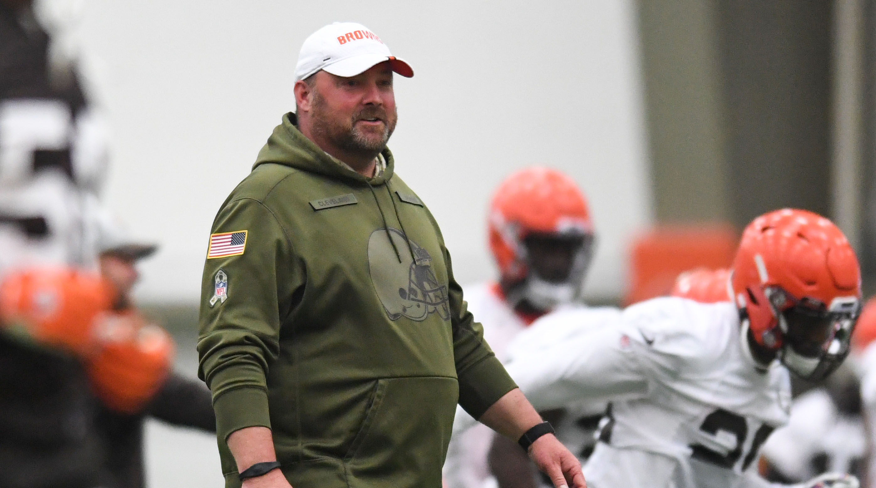 Freddie Kitchens punishes Browns for training camp fight