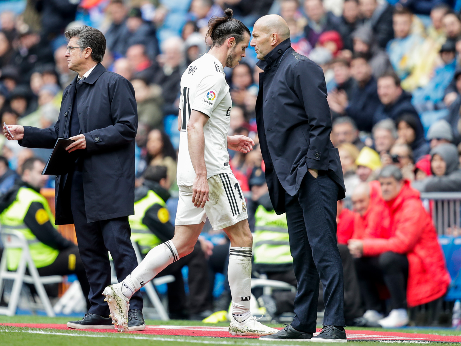 Gareth Bale has had a falling out with Zinedine Zidane at Real Madrid