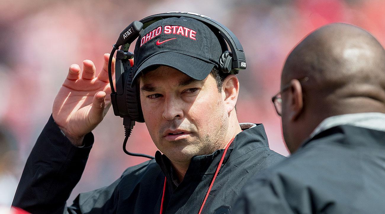 Big Ten football Ohio State fall camp Ryan Day