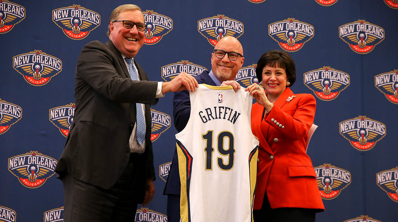 New Orleans Pelicans Introduce David Griffin Presser