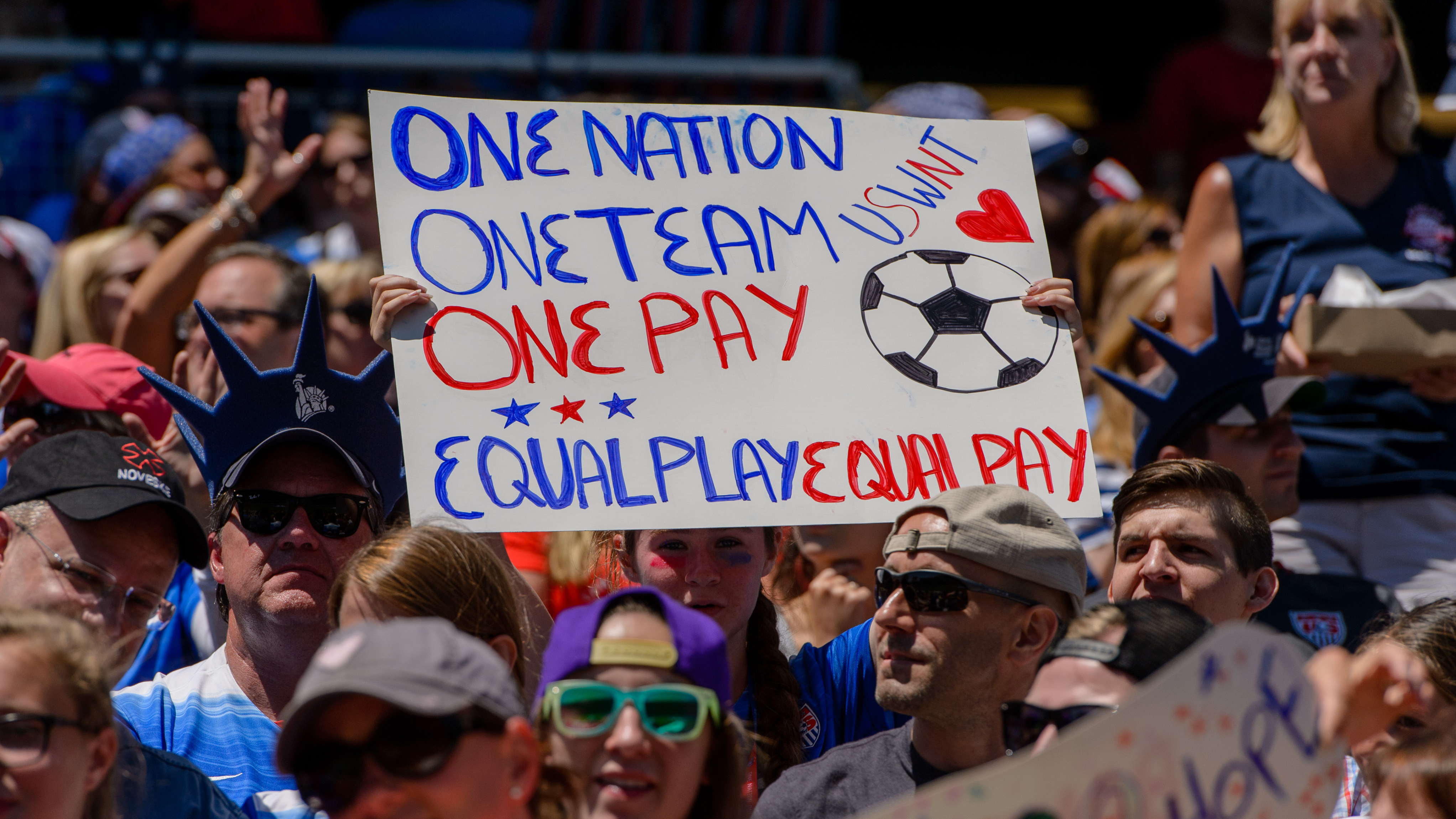 USWNT equal pay us soccer