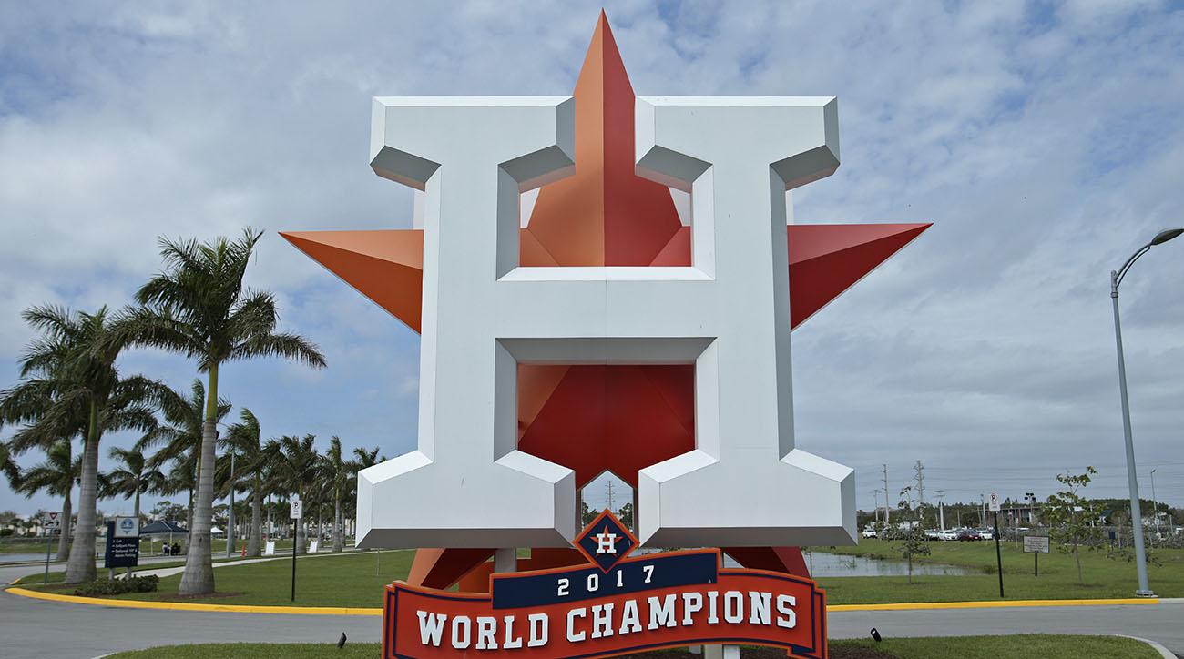Astros world series odds improve after Greinke trade