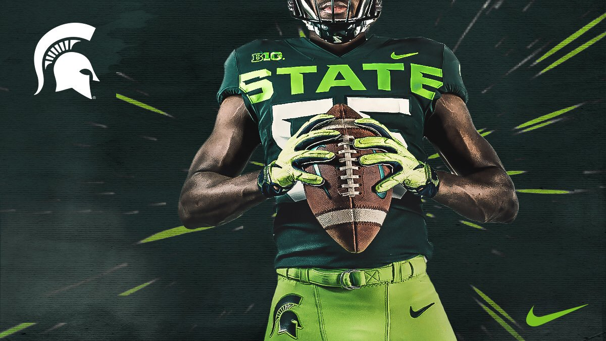 Michigan State's neon alternate uniforms revealed (photo)