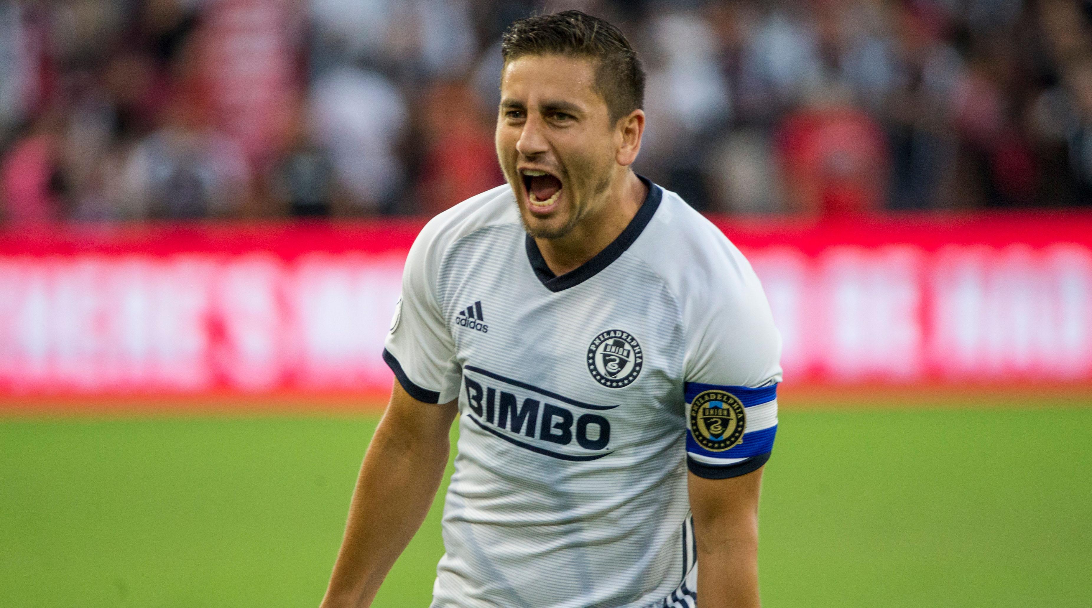 Philadelphia Union midfielder Alejandro Bedoya