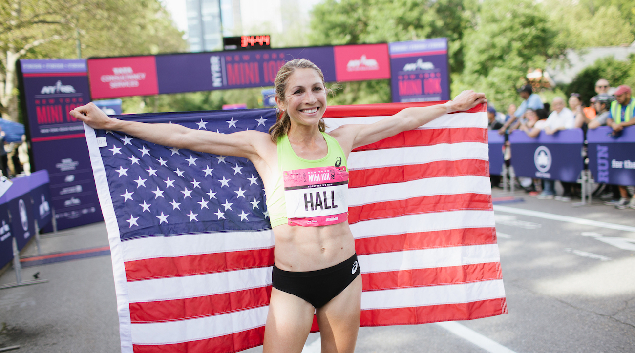 sara hall berlin new york city marathon double 2019