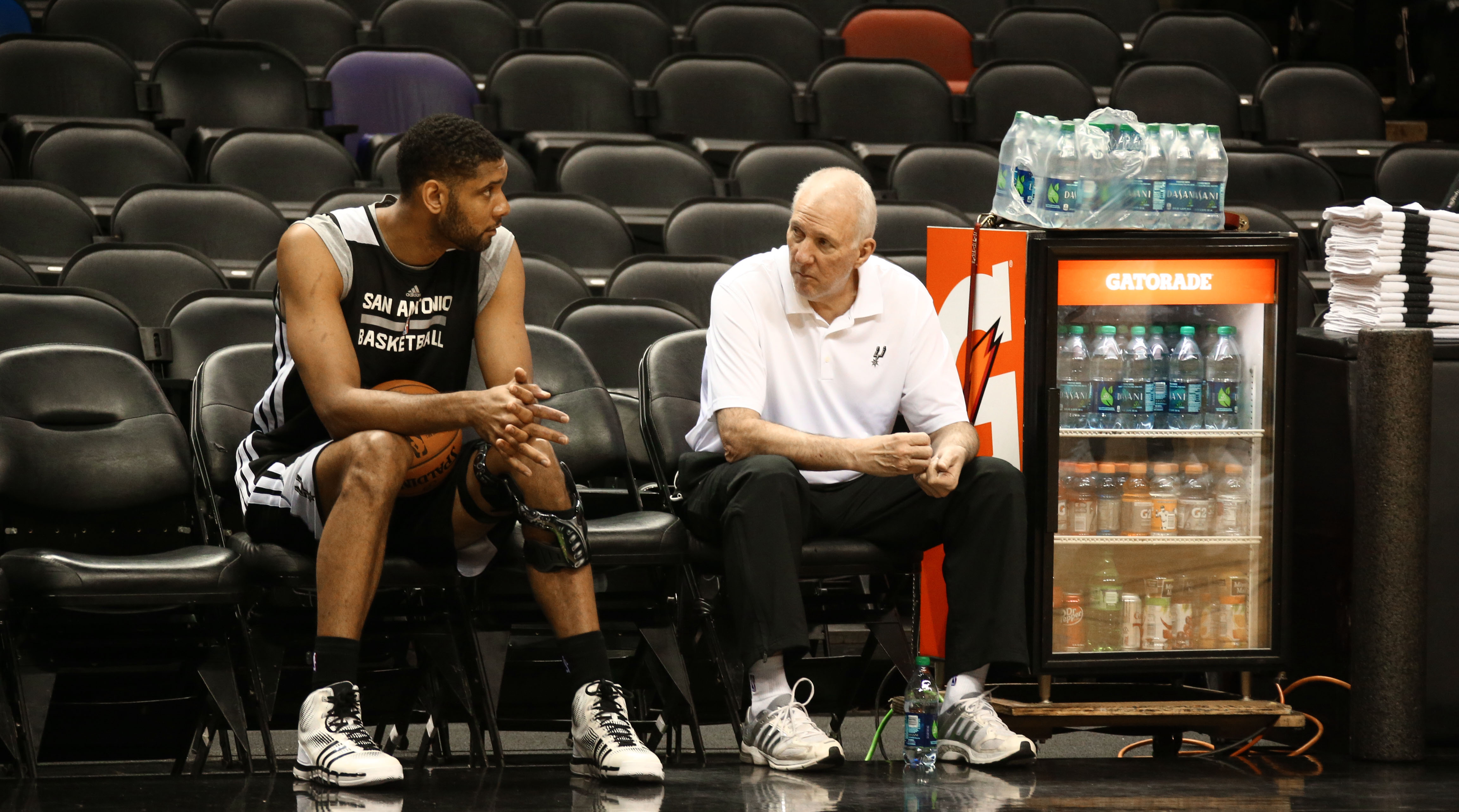 Coaching advice from Tim Duncan