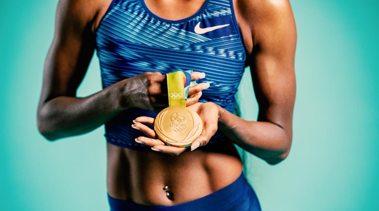 dalilah muhammad olympic gold medal