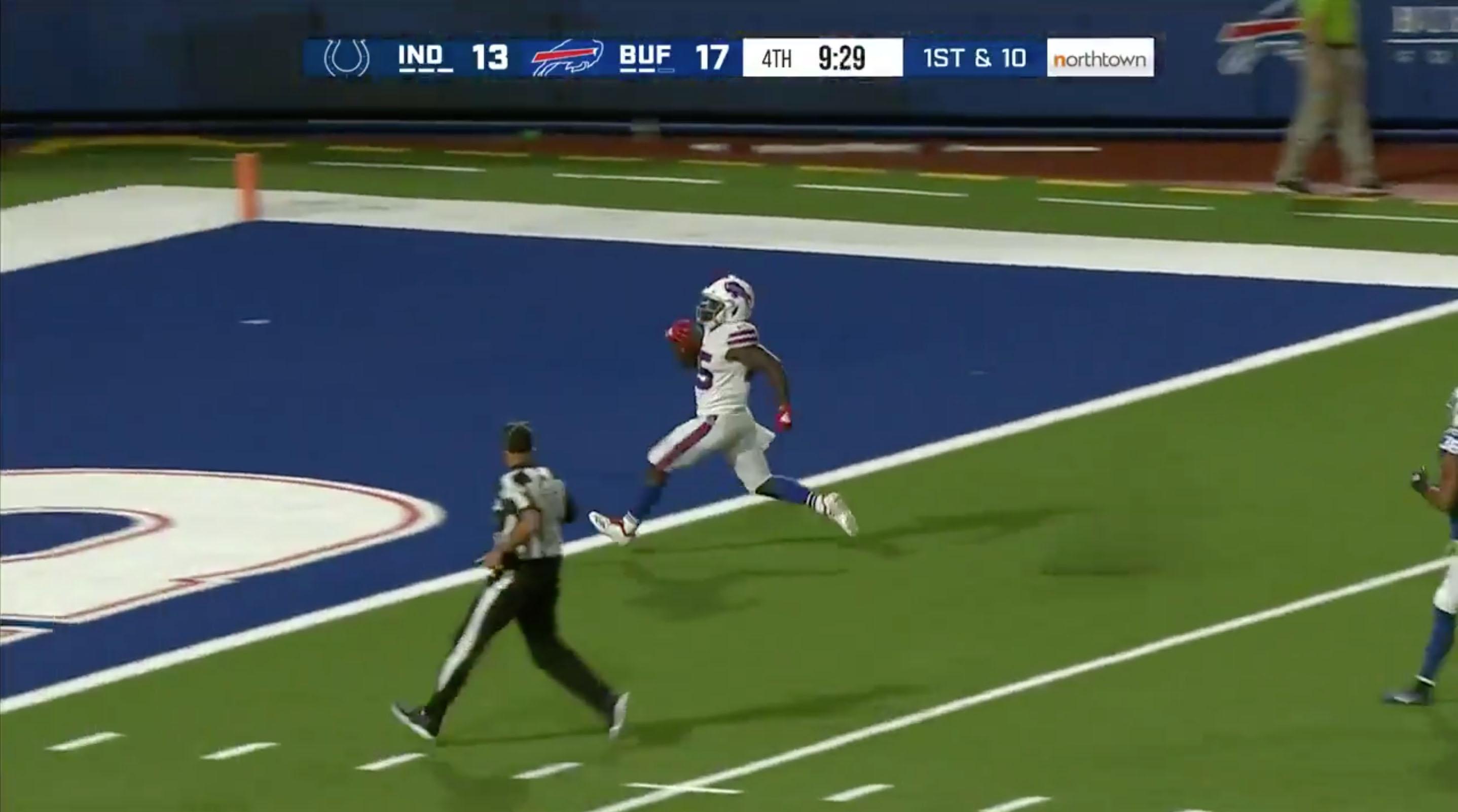Christian Wade first touchdown