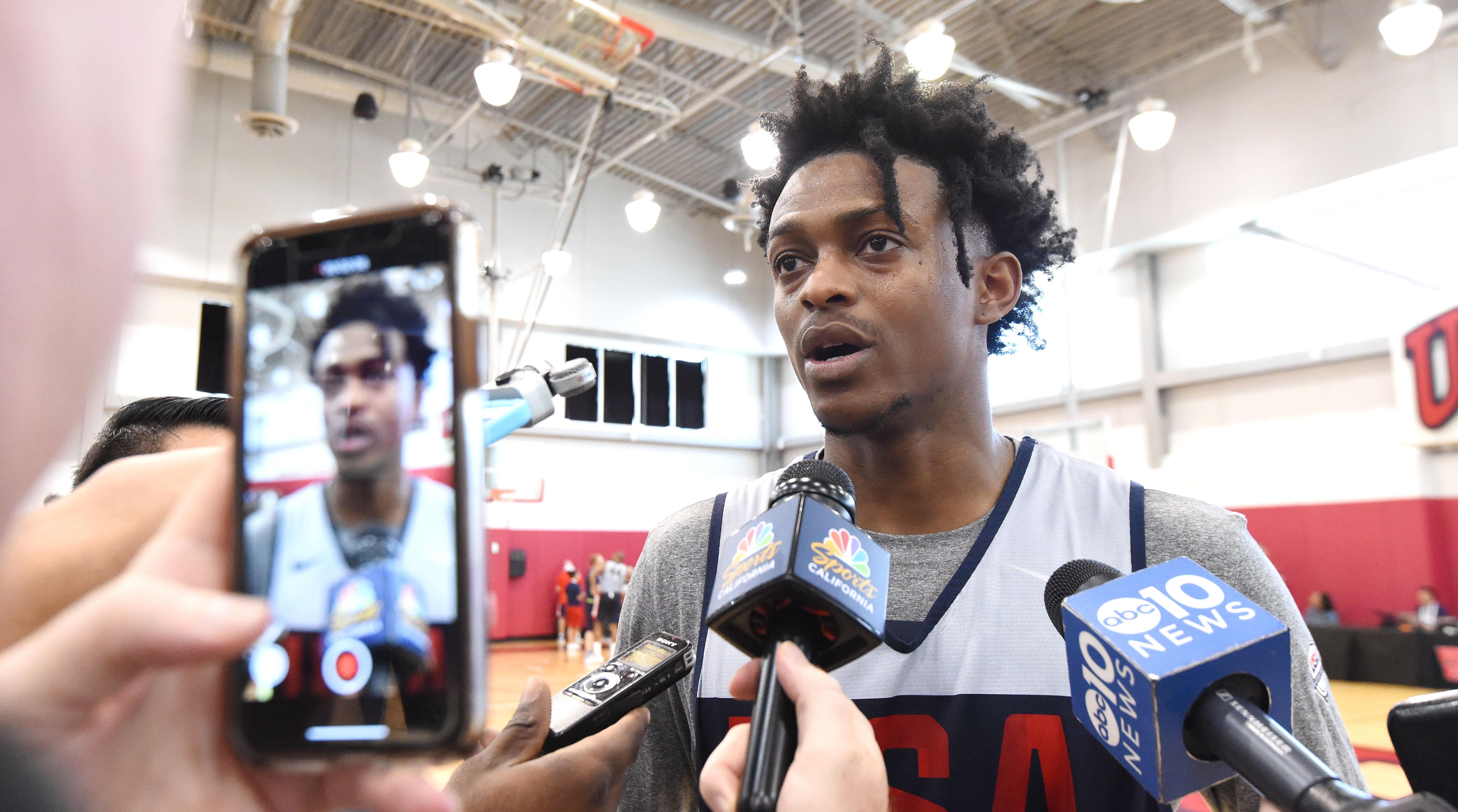 De'Aaron Fox, USA Basketball and a familiar path to stardom | SI com