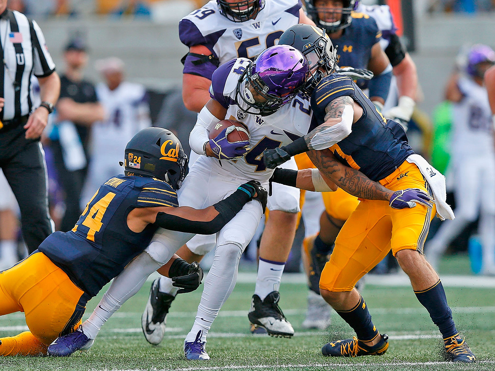 Cal football defense secondary safeties cornerbacks
