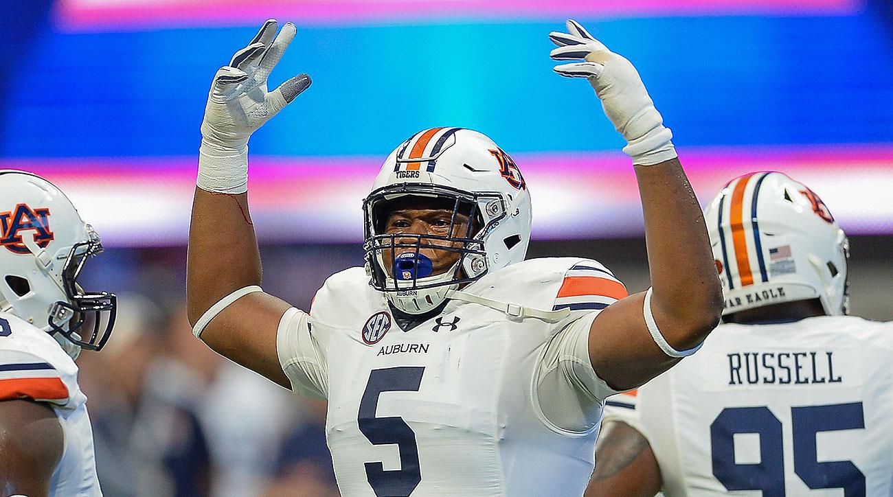 Auburn football Derrick Brown 2019 preview