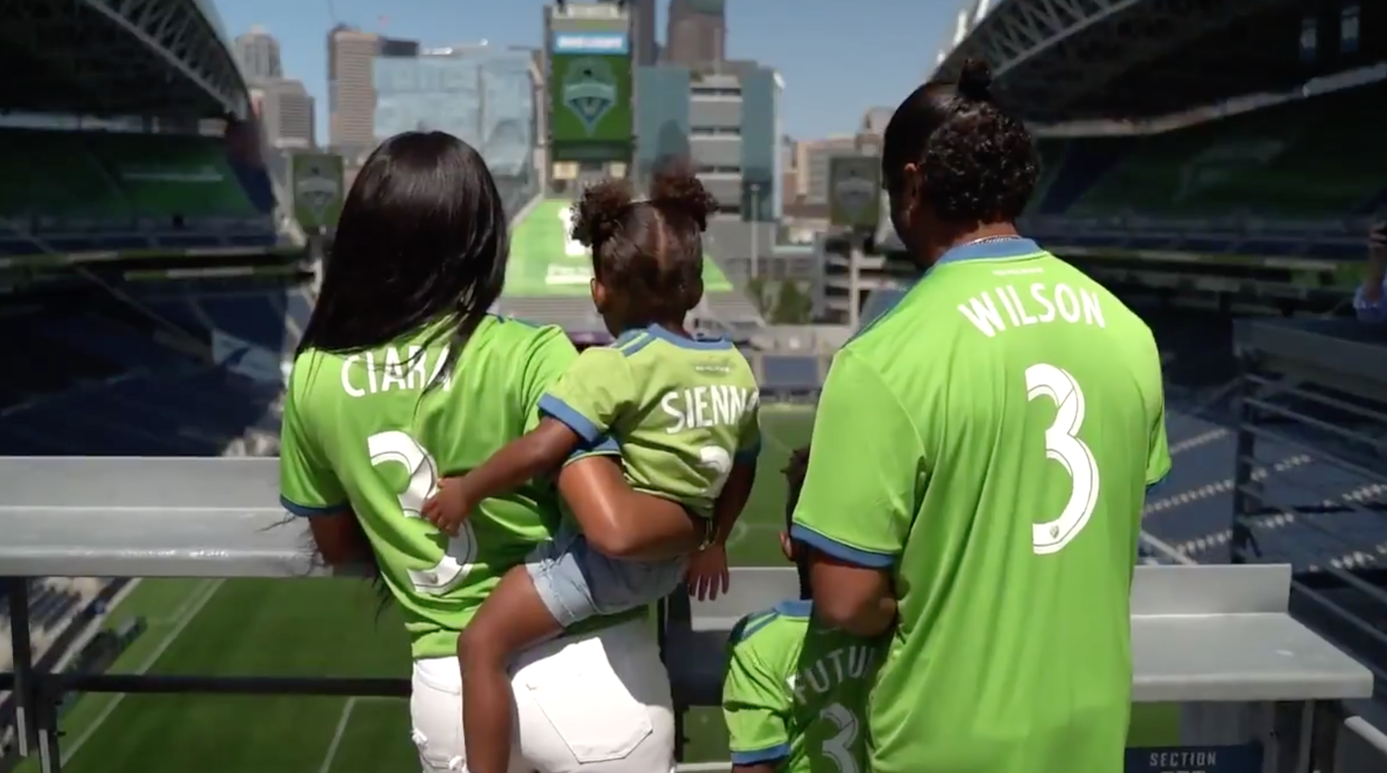 soccer, russell wilson, seattle sounders, ciara, Macklemore, Terry Myerson, wire
