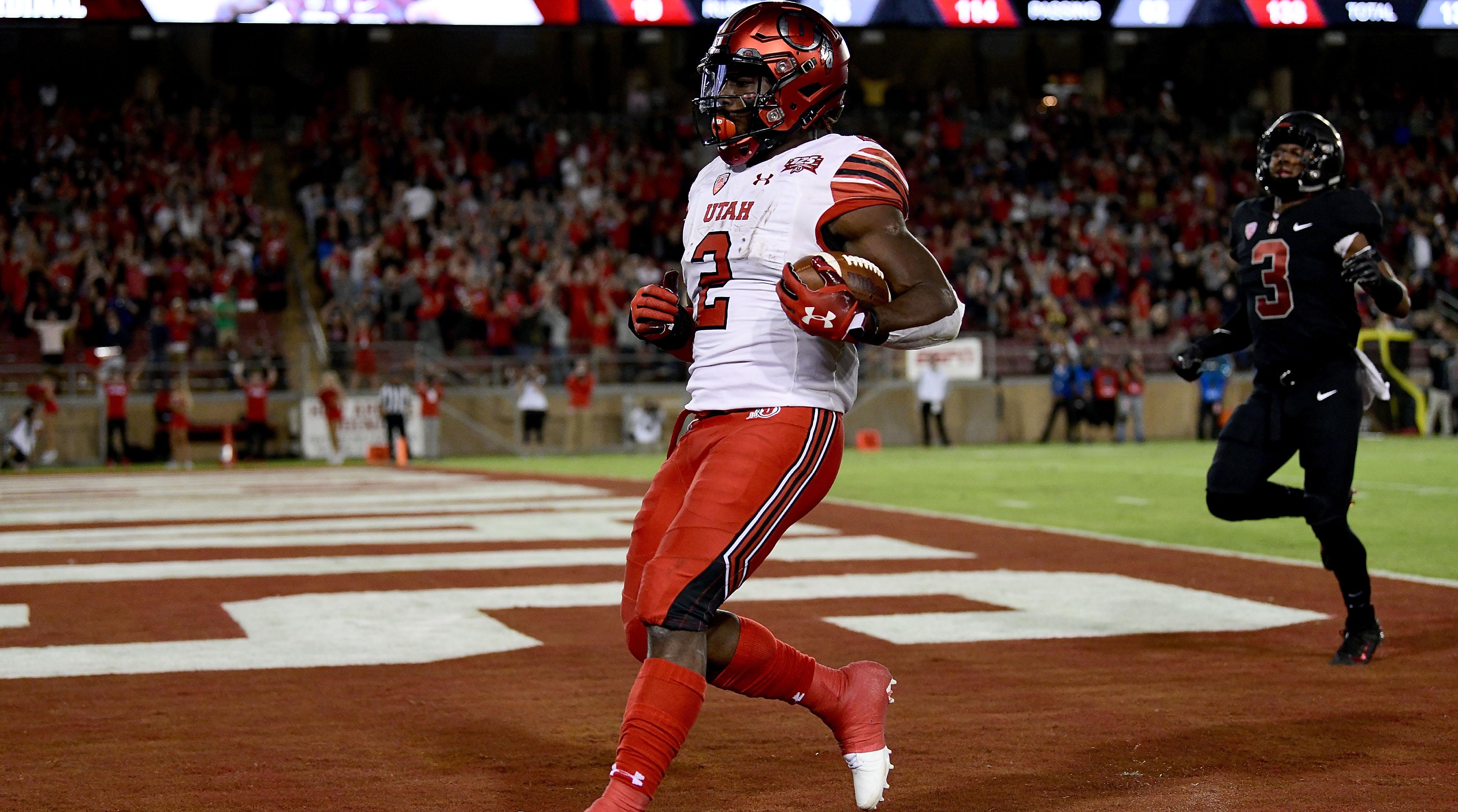 Utah RB Zack Moss
