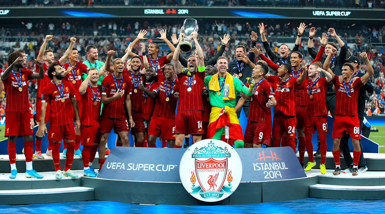Liverpool wins the UEFA Super Cup
