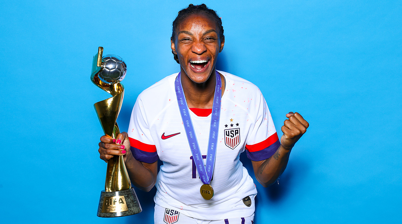 Crystal Dunn was part of the USA's Women's World Cup championship squad