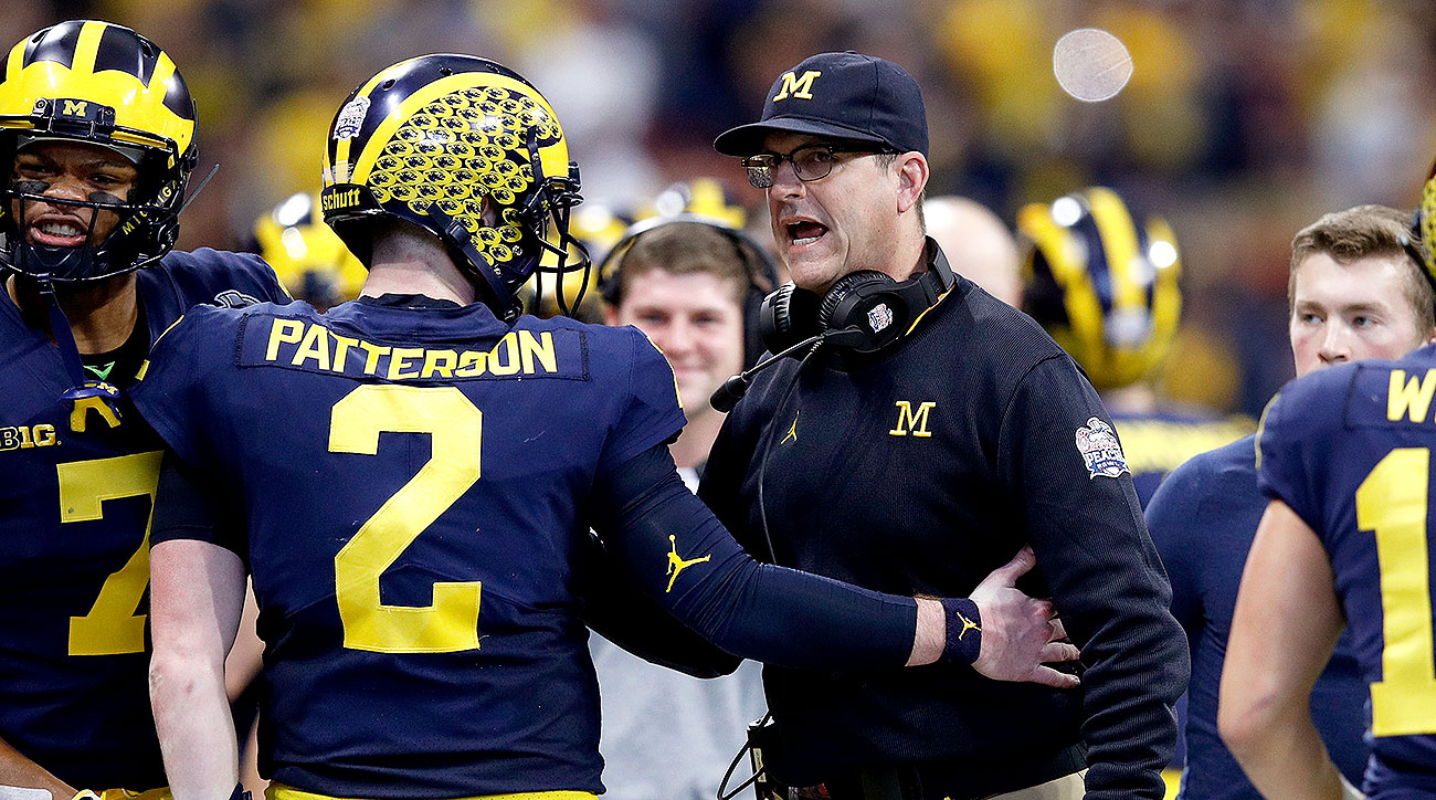 Michigan football Jim Harbaugh Wolverines 2019