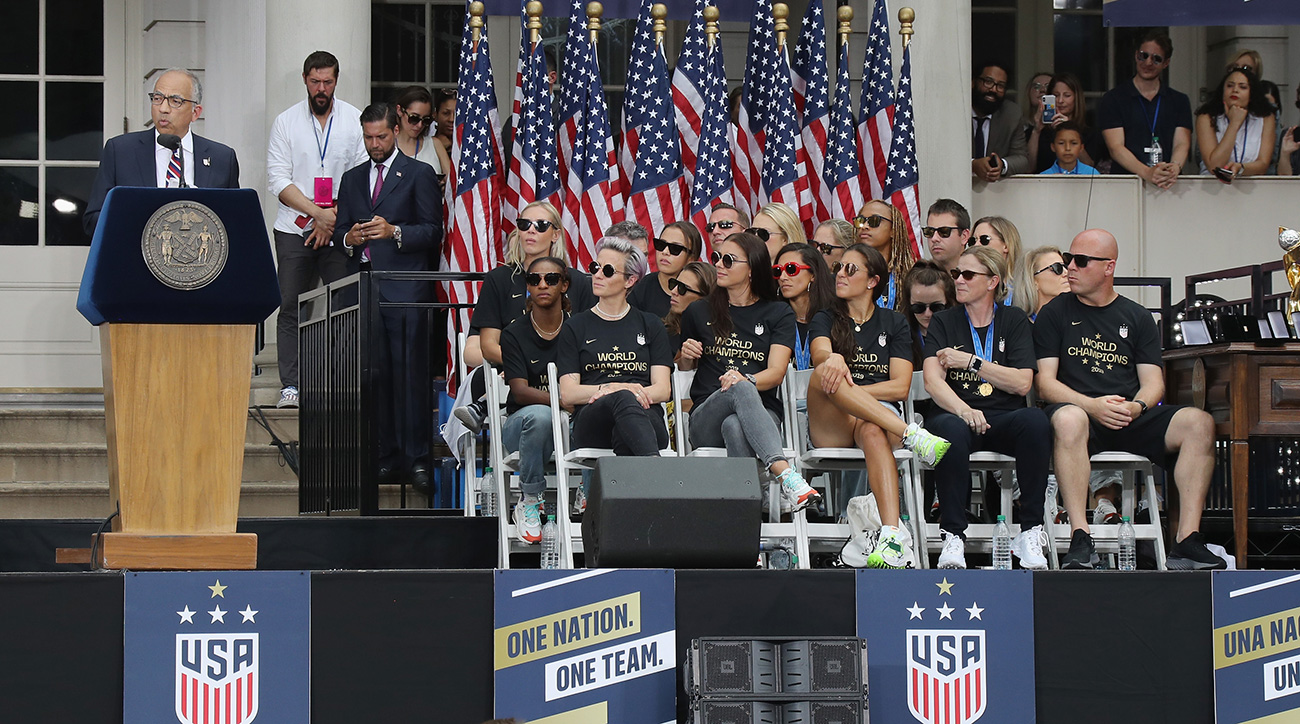 The USWNT and U.S. Soccer continue to fight over equal pay