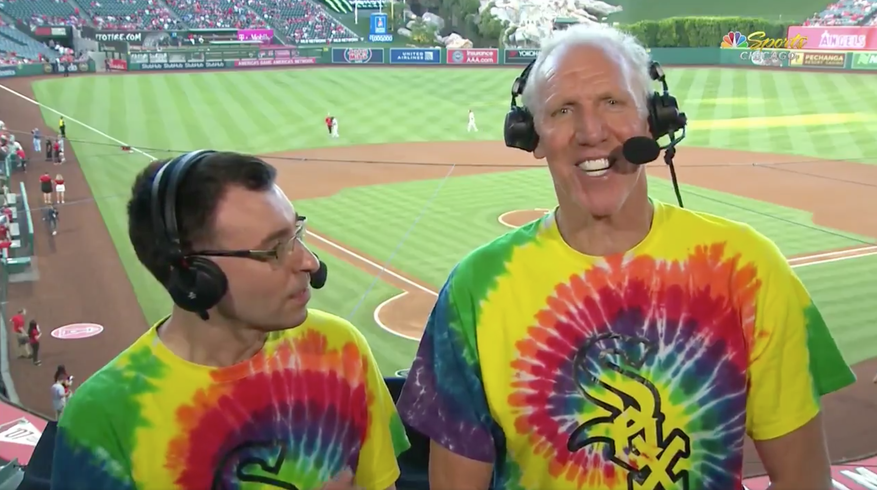 Bill Walton Takes Over White Sox Broadcast: 'I've Been Dead for Quite a Few Years'