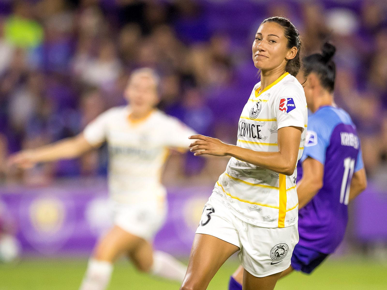 Christen Press and the Utah Royals are pushing for an NWSL playoff spot