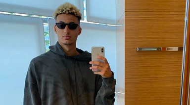 Kyle Kuzma roasted for outfit on Instagram